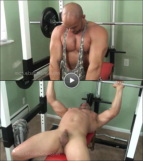 naked bodybuilder gay video