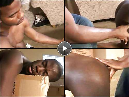black ass spanked video